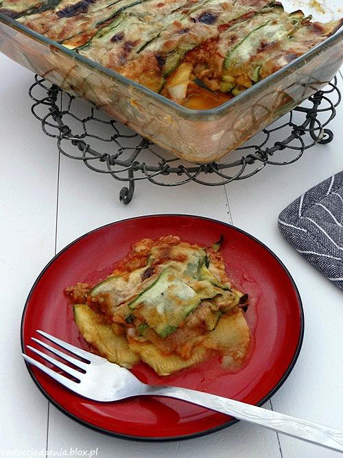 Lasagne (lazania) z cukinii