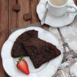 Francuskie naleśniki podwójnie czekoladowe