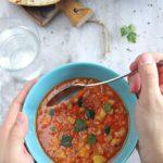 Zupa z pęczakiem i soczewicą