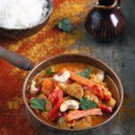 Curry z kurczaka z warzywami